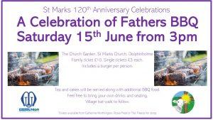 Celebration of Fathers BBQ @ St Marks Church, Dolphinholme