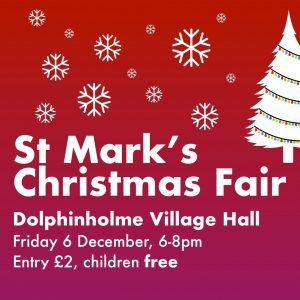 Christmas Fair - Dolphinholme Village Hall @ Dolphinholme Village Hall