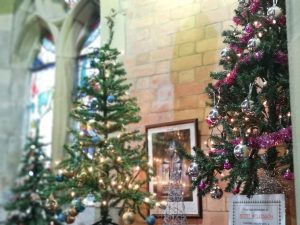 Christmas Tree Festival @ St Peter's Church, Quernmore